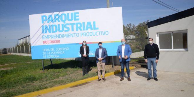 Se inauguró el parque industrial de Noetinger