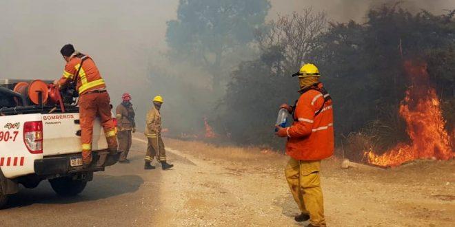 Son varios los incendios que ya fueron contenidos